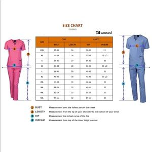 dagacci Other - 0266 Dagacci Scrubs Medical Uniform Women set